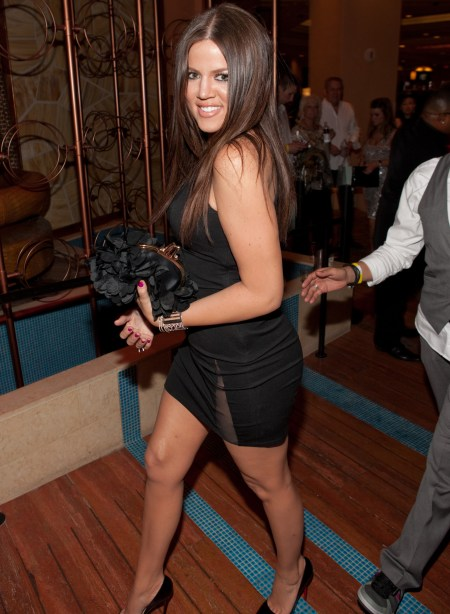 khloe kardashian at dos caminos SPRING BLING at The Palazzo