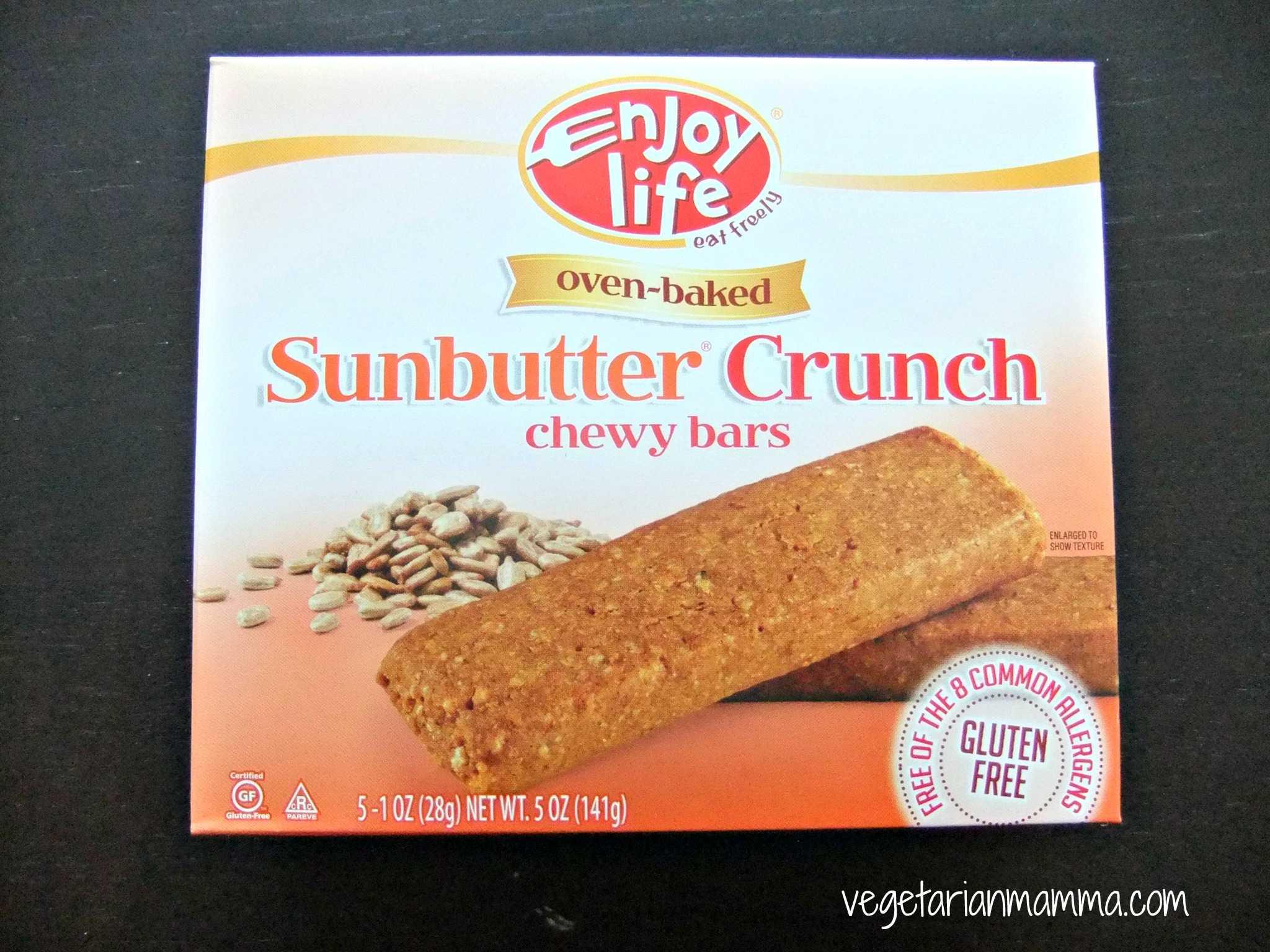 Gluten Free Allergen Free Review: Enjoy Life Chewy Bars