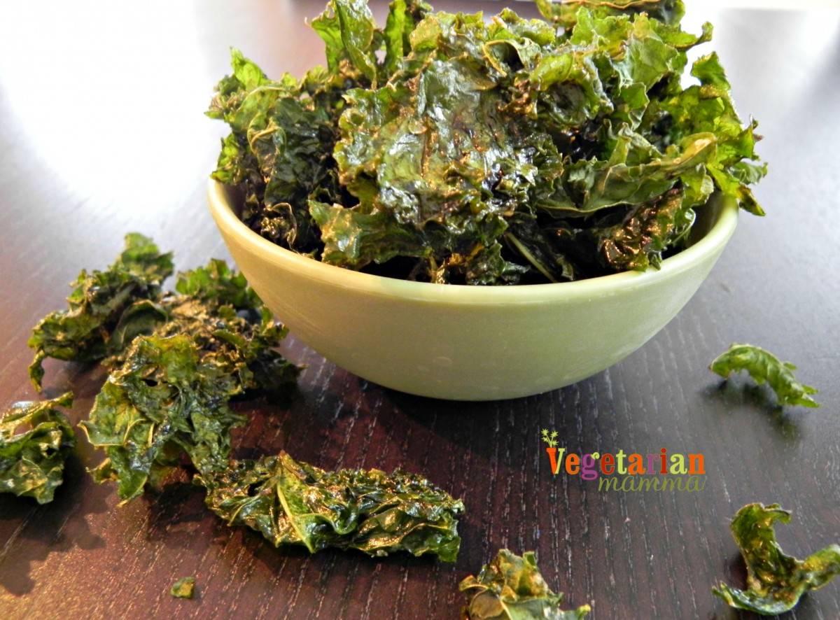 Easy Kale Chips – #glutenfree