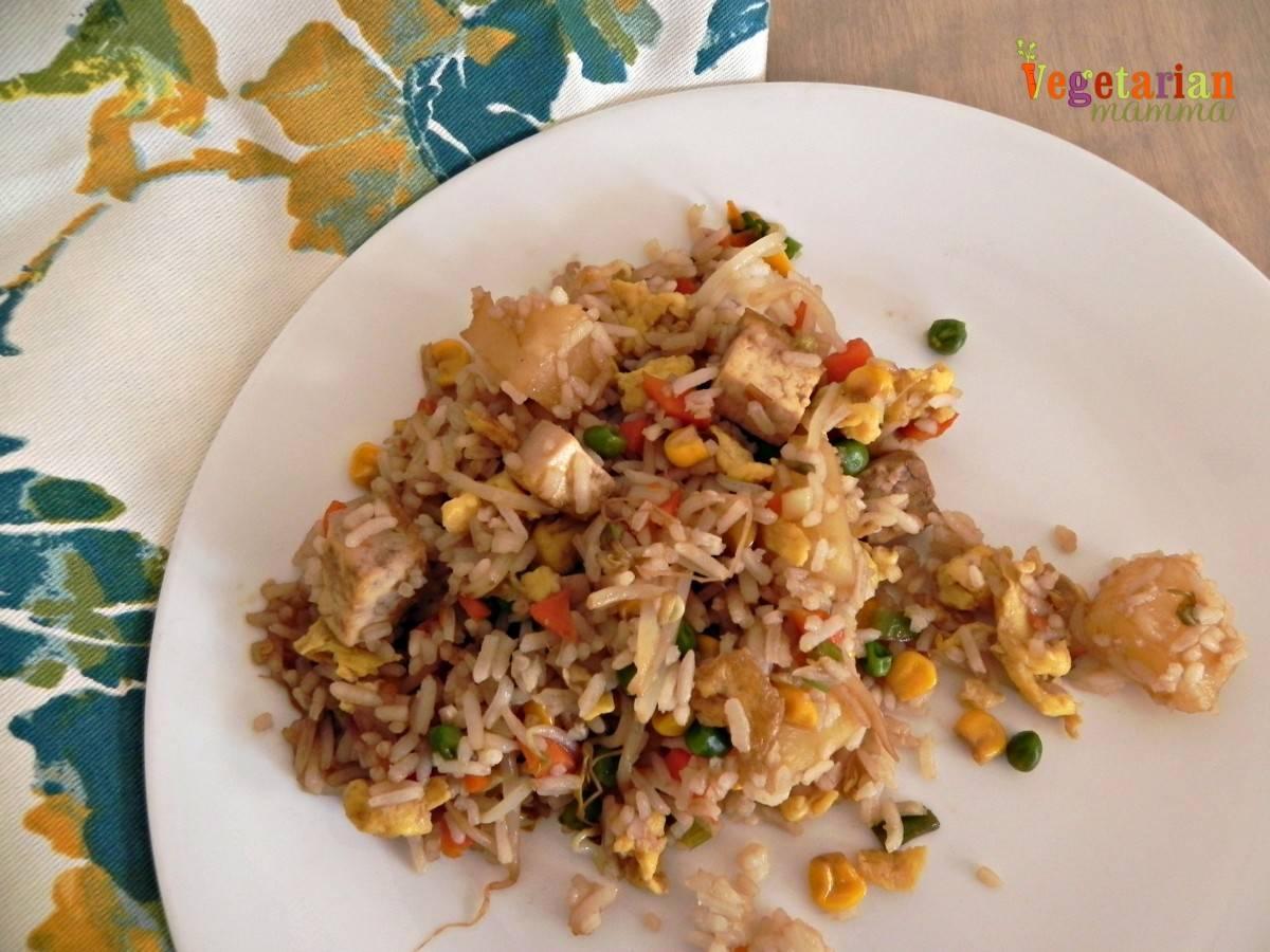#Tofu Fried Rice – #glutenfree