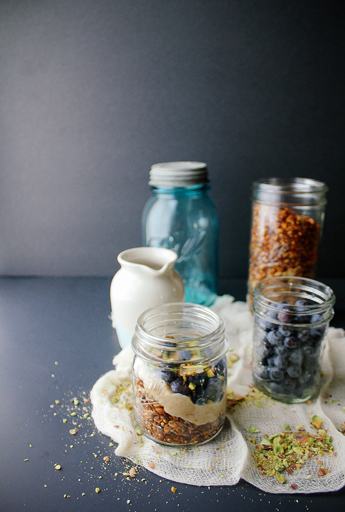 Blueberry Quinoa Parfait Recipe — Dishmaps