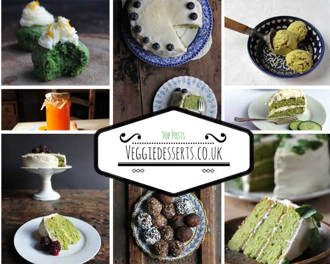 Top Posts - Vegetables in Desserts: Cakes, Cupcakes, Ice Cream, Jam! | Veggie Desserts Blog