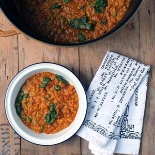 Red Lentil Dahl | Veggie Desserts Blog