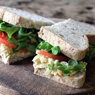 Vegan Tuna Mayo Sandwich | Veggie Desserts Blog