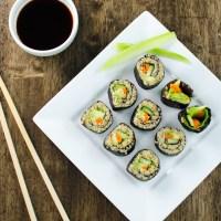 Veggie Quinoa Sushi Rolls (V and GF)