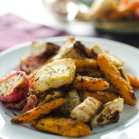 Roasted Root Veggies - V and GF