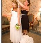 Silk Chiffon Wedding veil