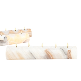 Onyx Tealight Candle Holder