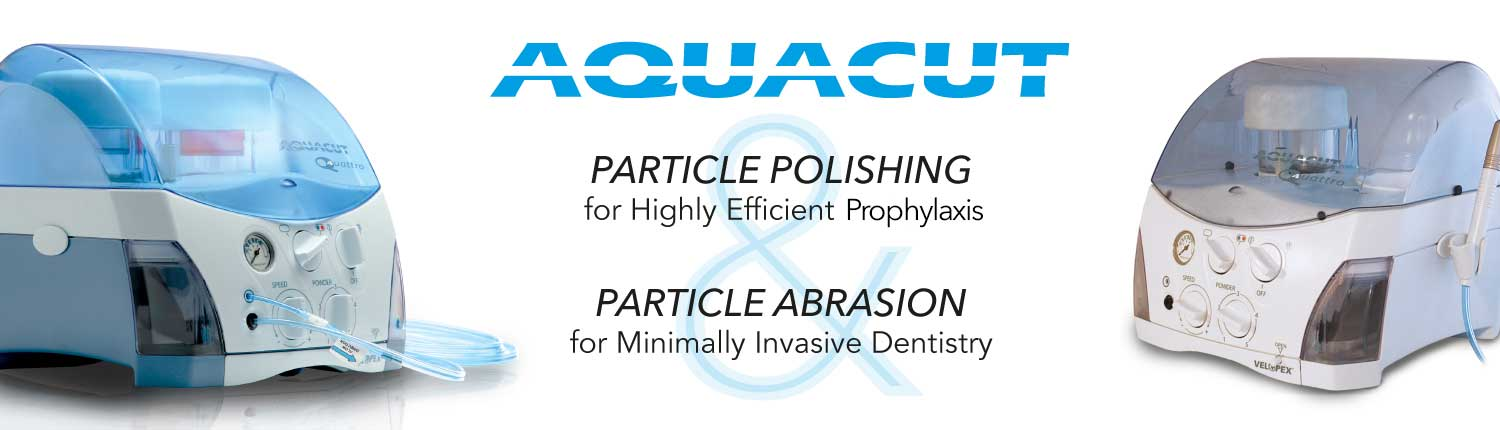 Aquacut Air Polishing and Air Abrasion Home Banner