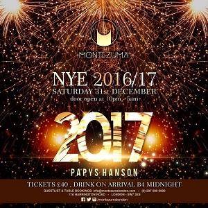 Montezuma New Years Eve 2016