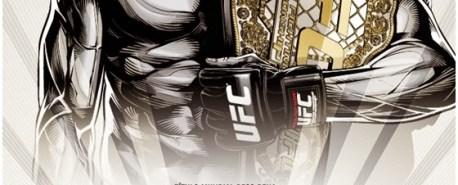 Pôster oficial do UFC 179