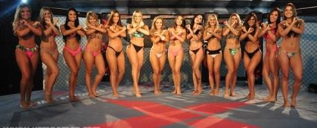 XFC seleciona candidatas ao posto de nova X-Girl
