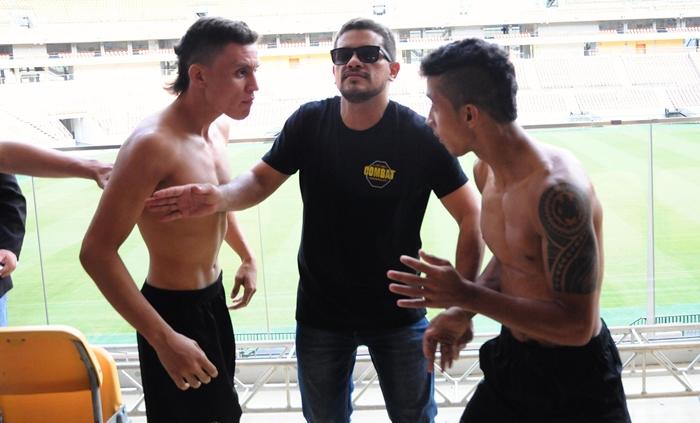 ITS TIME COMBAT 6 - Lucas Ananias e Luan Fernandes se estranham na pesagem - foto 3 - by Emanuel Mendes Siqueira