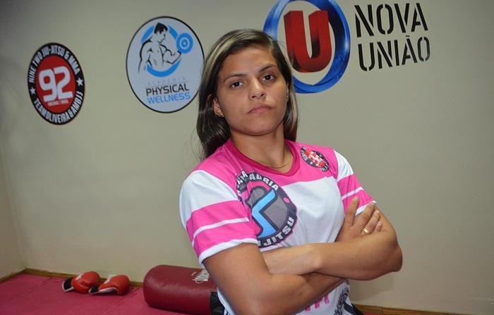 MMA - Patrícia Adria - campeã do Dantas Fight 6 - foto 5 - by Emanuel Mendes Siqueira