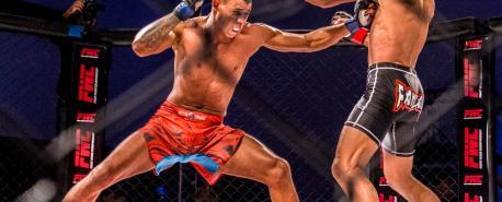 Gameth leva a melhor sobre Leleco no Fight Week Championship em Cabo Frio