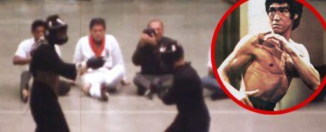 O único combate do Bruce Lee REAL que ficou registado em vídeo