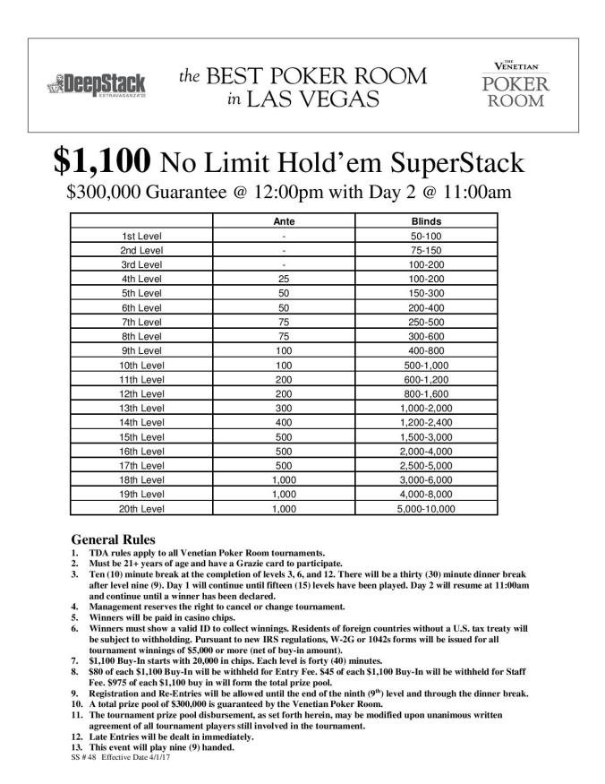 Dse Iii Nl Superstack Page 001 Resize Ssl Event Limit Holdem