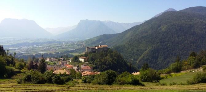 Le cascate del Rio Bianco a Stenico in Trentino