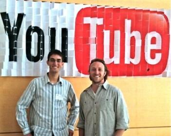 Feross Aboukhadijehwith YouTube CEO Chad Hurley