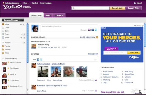 Yahoo Mail Whats New