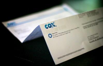 cox cable bill