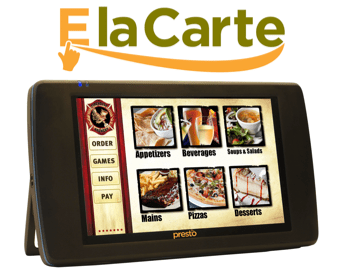 E La Carte tablet