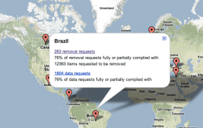 Google Transparancy Map