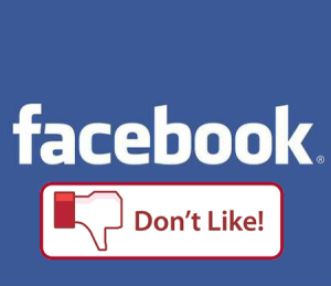 Facebook, Don't Like Button