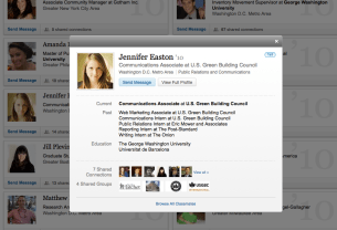 LinkedIn Classmates Profiles