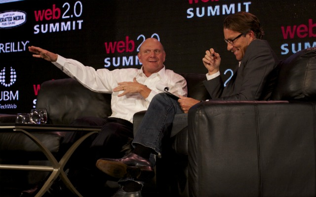 Steve Ballmer Microsoft CEO Web 2