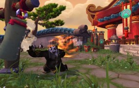Mists_of_Pandaria_--_Pandaren_Monk_Striking_Target_Dummy