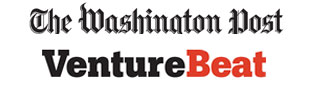 VentureBeat and Washington Post logos