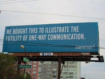 yammer billboard