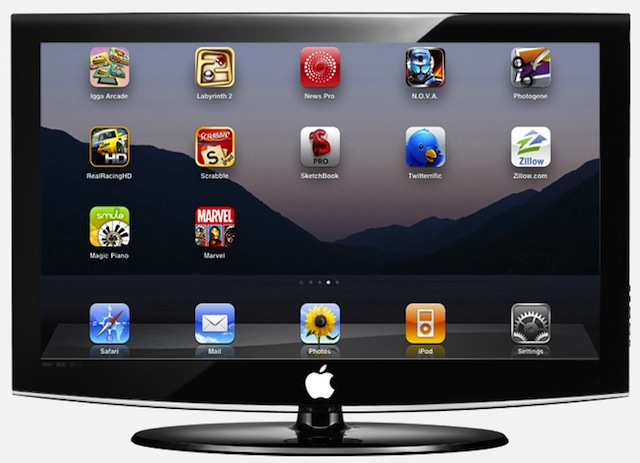 Apple iTV (artist's conception)