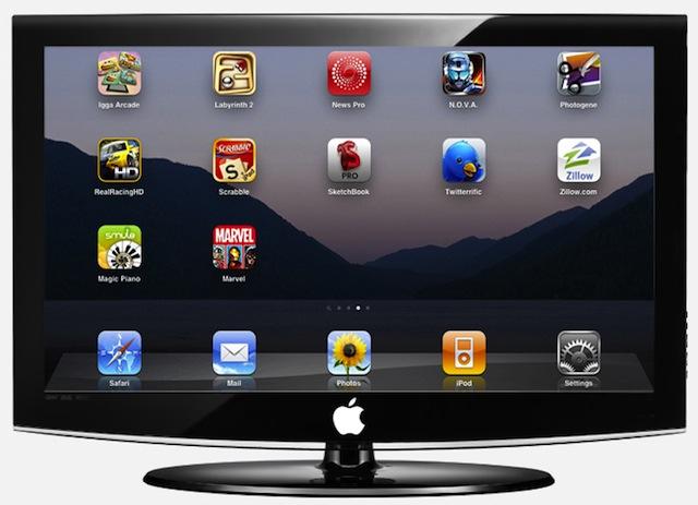 apple television mockup