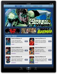 DC Comics Comixology