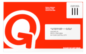 Quickflix envelope