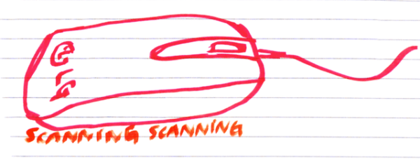Mouse Scanner LG