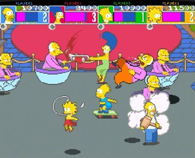 The Simpsons Arcade on Xbox Live