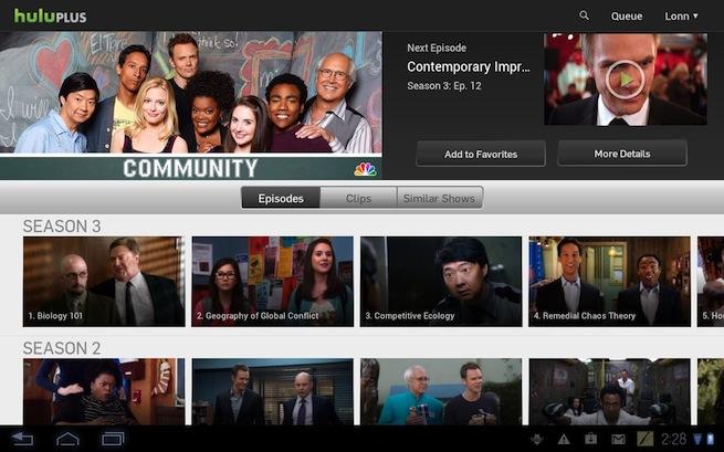 Hulu App Android