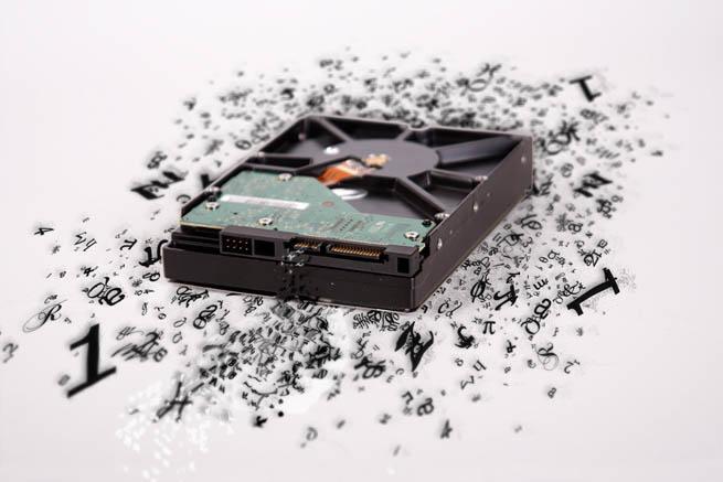 big data broken hard drive