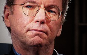 Google chief Eric Schmidt.