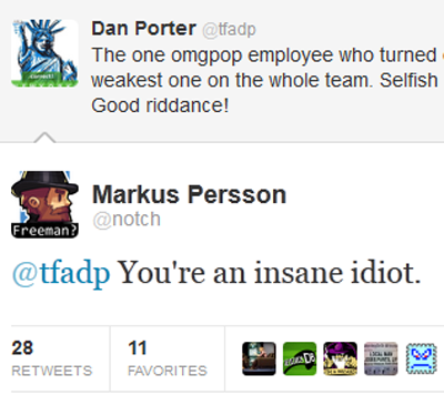 Notch tweets to Dan Porter