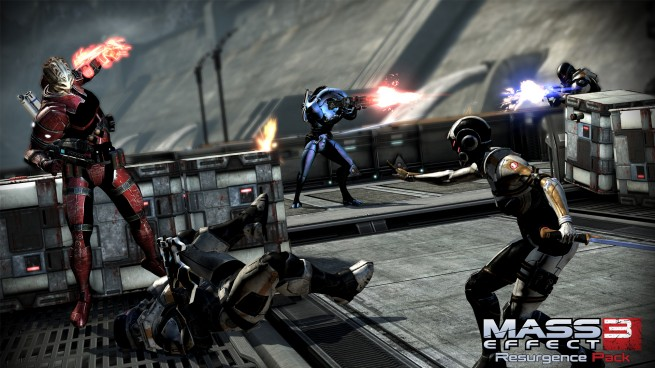 Mass Effect 3 ending multiplayer DLC Resurgence Pack Operation Beachhead