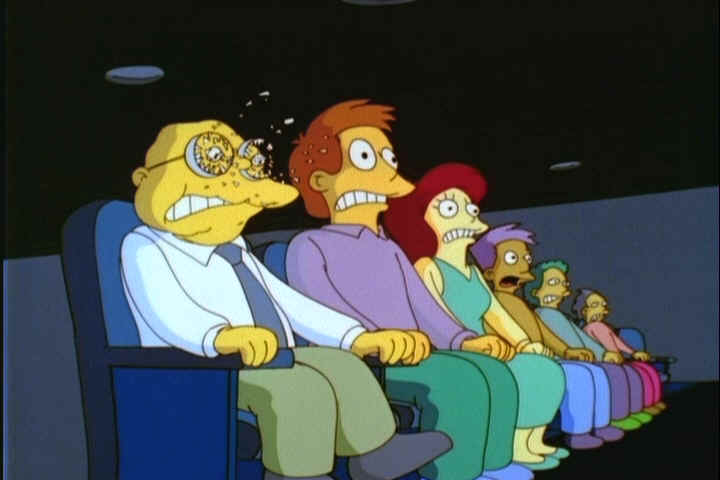 simpsons theater sound