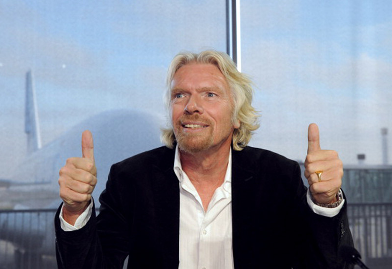 CEO of Virgin Group, Sir Richard Branson
