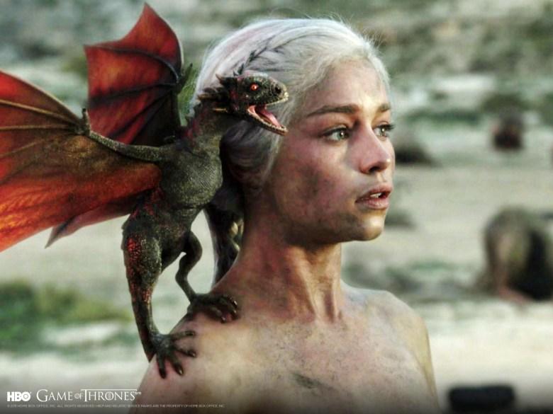 Daenarys Game Of Thrones Dragon Hatchling