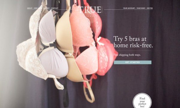 True&Co personal bra fitting