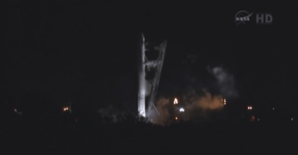 SpaceX aborts Falcon 9 rocket launch