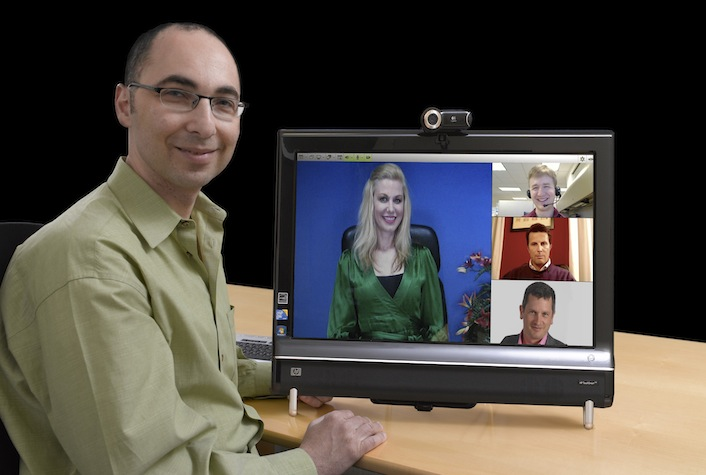 Vidyo president, chief executive, and co-founder Ofer Shapiro